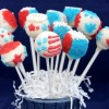 Thumbnail image for Fun Desserts: Patriotic Red White and Blue Cake Pops