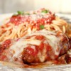Thumbnail image for Italian Chicken Parmesan Recipe with Spaghetti and Red Marinara Sauce