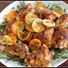Thumbnail image for Easy Chicken Recipes – Herb and Citrus Oven Roasted Chicken Parts Recipe