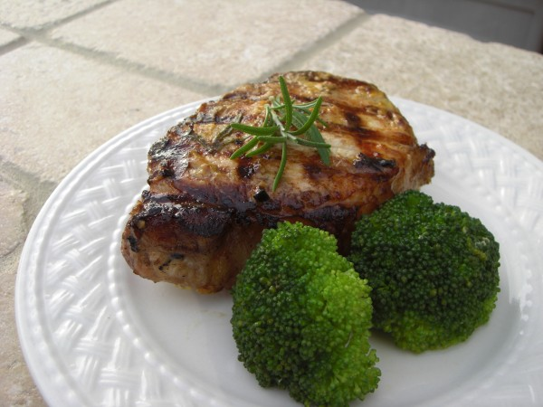 BBQ Grilled Pork Chops