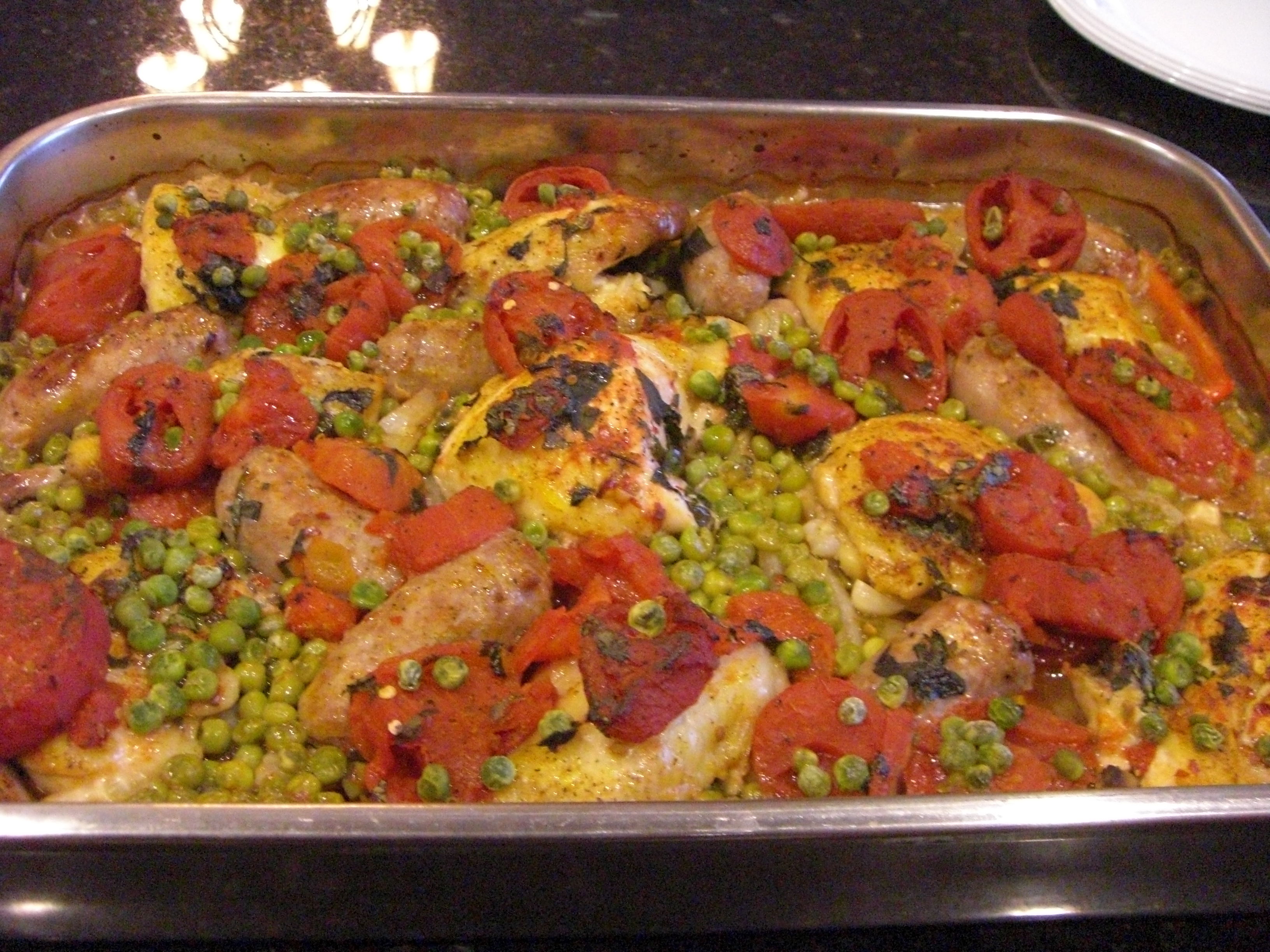 Italian Paella A Simple But Delicious Chicken And Rice Recipe Cooking With Sugar