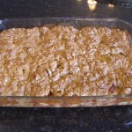 Apple Crisp with Oatmeal Cookie Topping