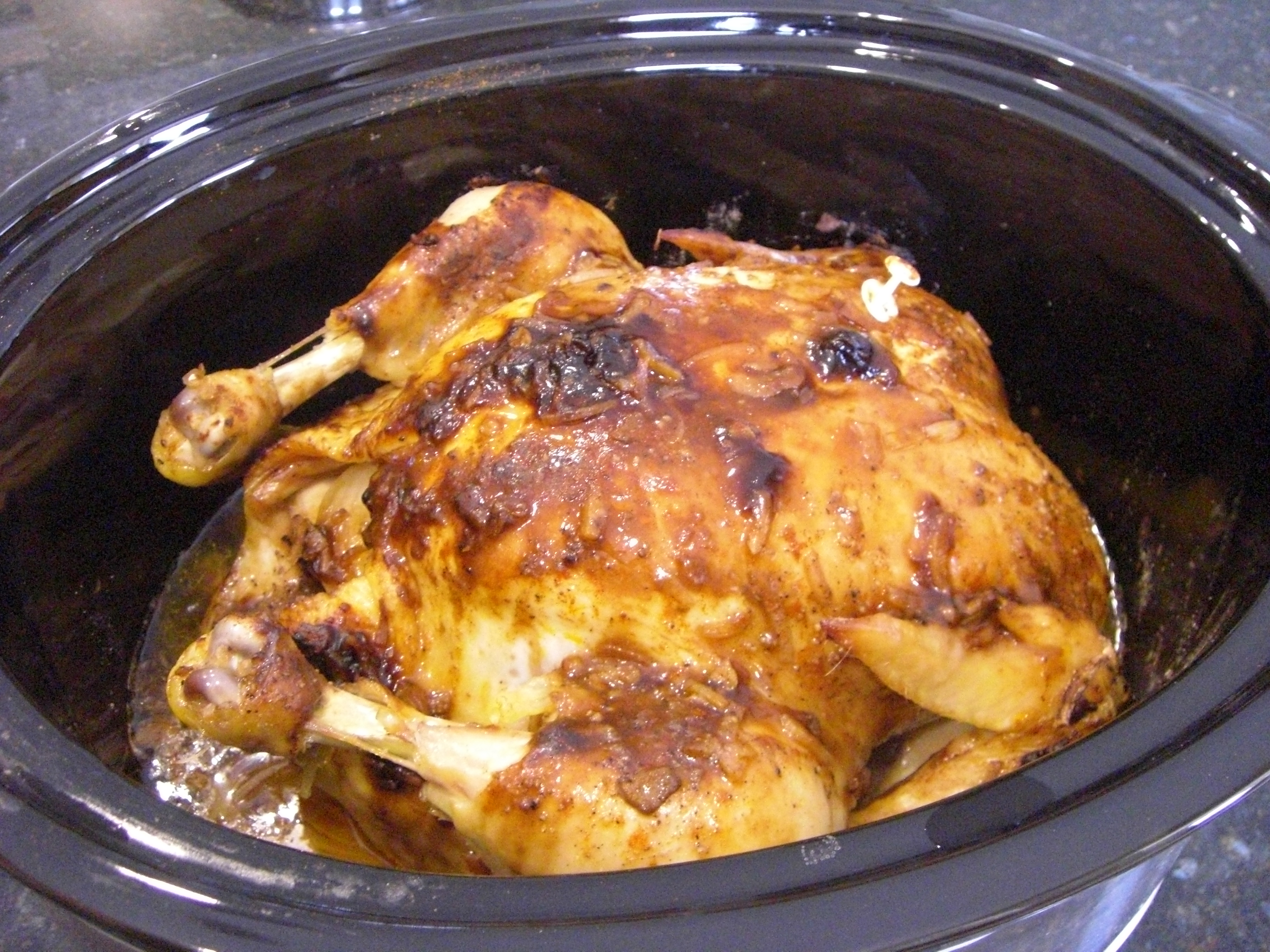 Chicken Slow Cooker Time
