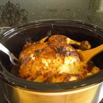 Crock Pot Chicken with Pan Gravy - An Easy Chicken Recipe