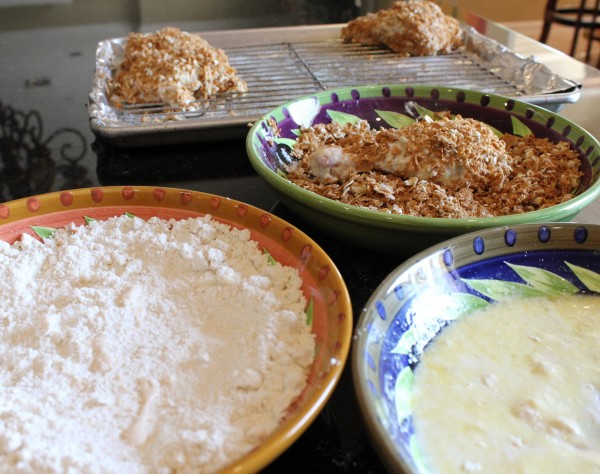 Honey-Crisp Oven-Fried Chicken Recipes — Dishmaps