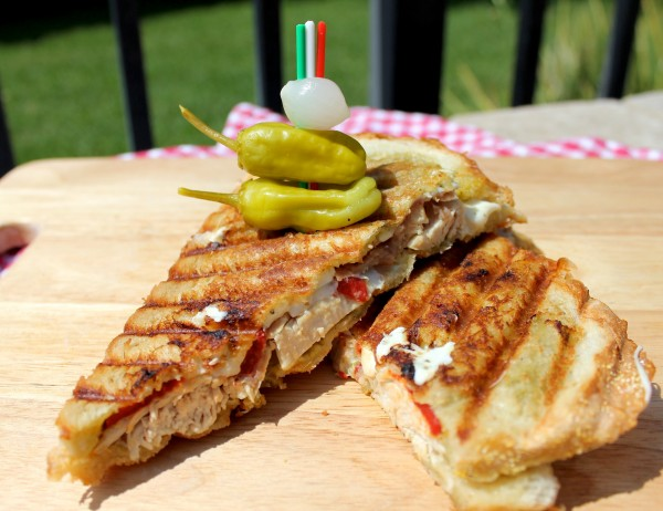 Italian Chicken Panini At Home - Without An Expensive Machine