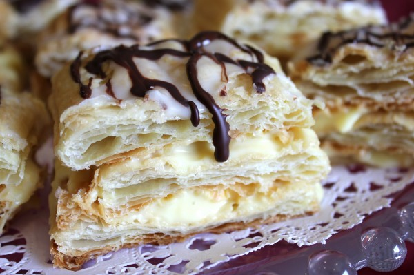 French pastry made easy – Vanilla Cream Napoleons