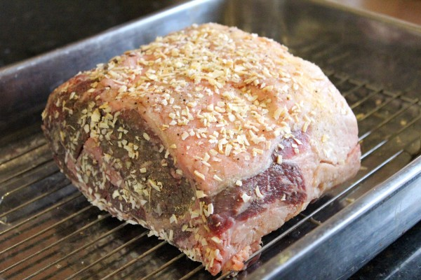 Onion Crusted Prime Rib Roast 2