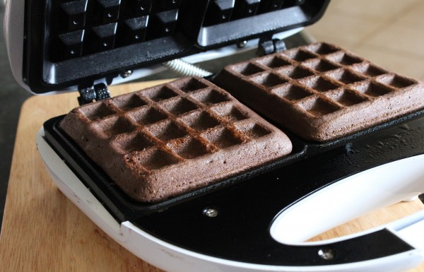 Cake Mix Waffles - A Fun Dessert 4