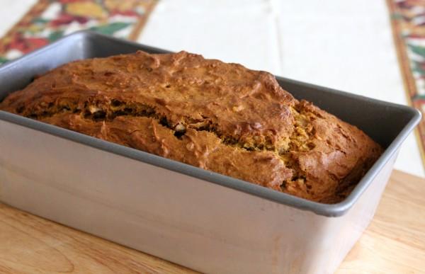 Coconut Pumpkin Bread 3
