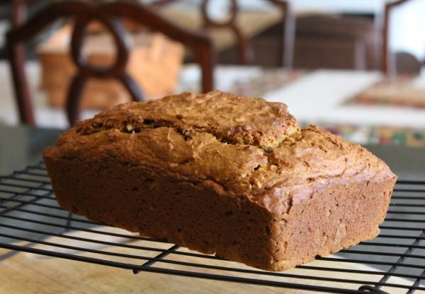 Coconut Pumpkin Bread 4
