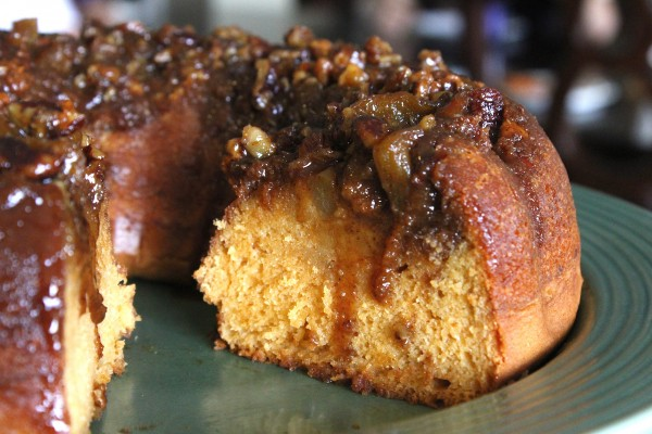 My Apple upside down cake combines the sweet taste of butterscotch ...