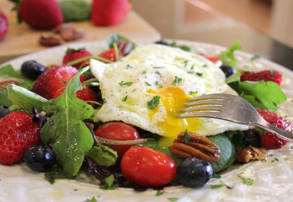 Post image for Breakfast Salad for Health and Weight Loss. Start Your Bikini Body for Summer Now!