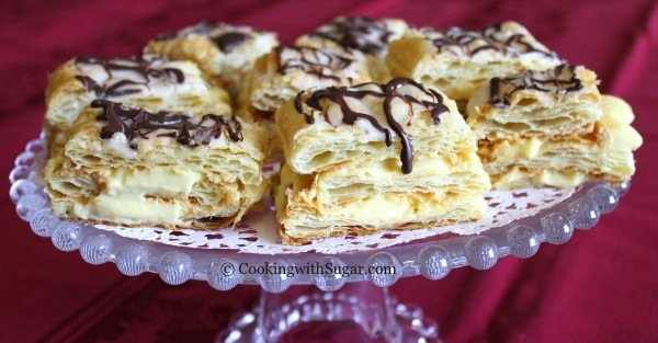 French pastries made easy vanilla cream napoleons a great french pastries made easy vanilla cream napoleons a great dessert recipe idea forumfinder Choice Image