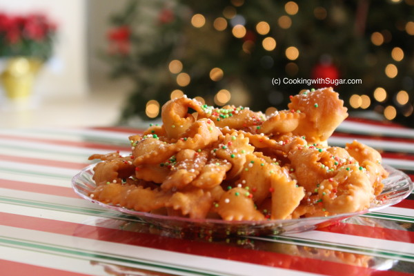 Moms Italian Ribbon Christmas Cookies Recipe Fun Creative Best New Idea