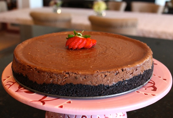 10-easy-homemade-chocolate-oreo-cookie-cheesecake-recipe